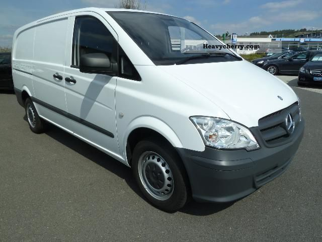 mercedes benz vito 110 cdi long euro5 bluetooth 2011 box type delivery van long photo and specs. Black Bedroom Furniture Sets. Home Design Ideas