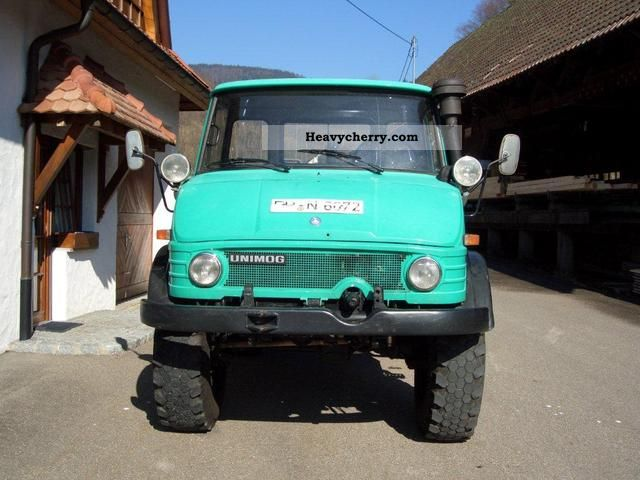 1975 Mercedes-Benz  unimog Agricultural vehicle Other agricultural vehicles photo