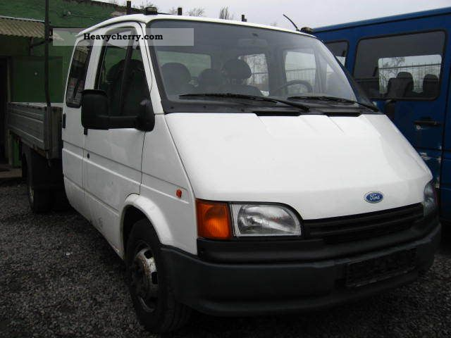 1993 Mercedes-Benz  Transit Van or truck up to 7.5t Stake body photo