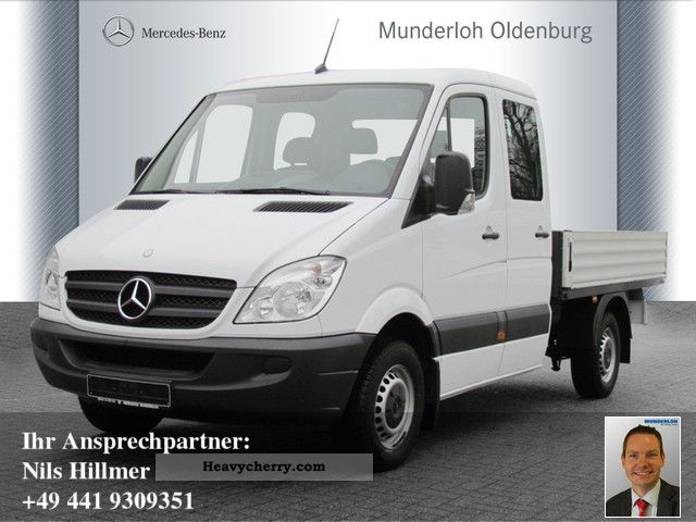 2009 Mercedes-Benz  Sprinter 313 CDI DOKA AIR platform Van or truck up to 7.5t Stake body photo