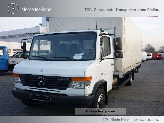 2008 Mercedes-Benz  Vario 818 D Van or truck up to 7.5t Stake body photo