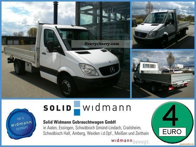 2007 Mercedes-Benz  311 CDI Sprinter 511 + Air Prit tachograph Van or truck up to 7.5t Stake body photo