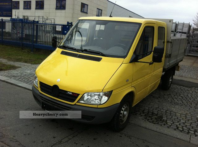 2005 Mercedes-Benz  Sprinter Maxi - Doka platform 316 CDI € III Van or truck up to 7.5t Stake body photo