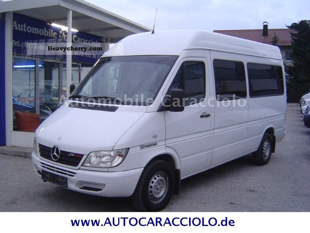 mercedes benz sprinter 216 cdi bus 9 seats 2002 estate. Black Bedroom Furniture Sets. Home Design Ideas