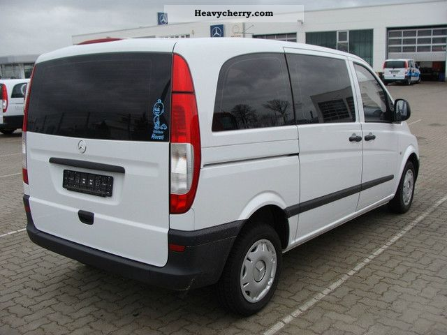 mercedes benz vito 115 compact mixto 2007 estate minibus up to 9 seats truck photo and specs. Black Bedroom Furniture Sets. Home Design Ideas