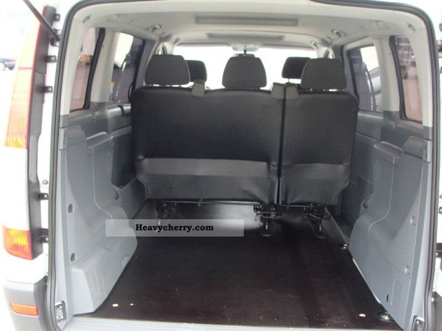 mercedes benz vito 115 compact mixto 2007 estate minibus. Black Bedroom Furniture Sets. Home Design Ideas