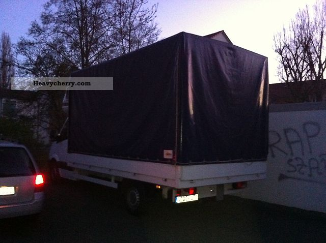 2010 Mercedes-Benz  316 rare dimensions L: 430 W: 230 H: 235 Van or truck up to 7.5t Stake body and tarpaulin photo