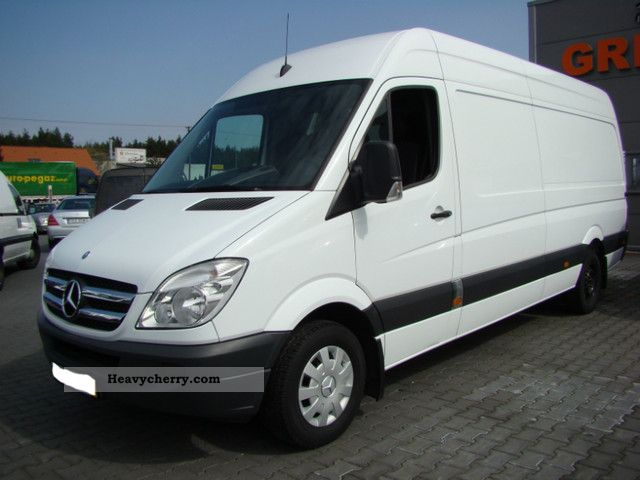 Mercedes benz sprinter 315 cdi maxi 2008 other vans trucks for 2008 mercedes benz truck