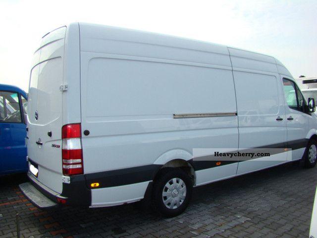 mercedes-benz sprinter 315 cdi maxi 2008 other vans/trucks up to 7