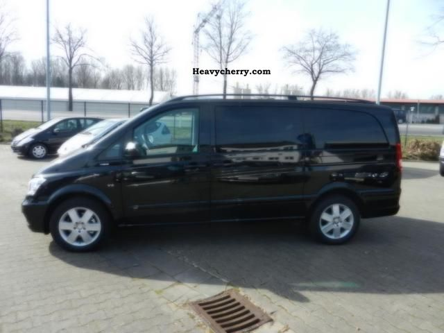 mercedes benz viano 3 0 v6 cdi trend long edition 2011 estate minibus up to 9 seats truck. Black Bedroom Furniture Sets. Home Design Ideas