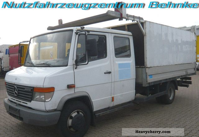 2001 Mercedes-Benz  814 D Vario special assembly column structure f Van or truck up to 7.5t Stake body photo