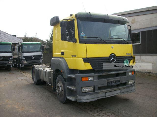 Mercedes benz axor 1835 ls kipphydr german truck 2003 for Mercedes benz semi trucks