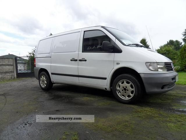 mercedes benz vito 110 cdi top 2002 other vans trucks up to 7 photo and specs. Black Bedroom Furniture Sets. Home Design Ideas