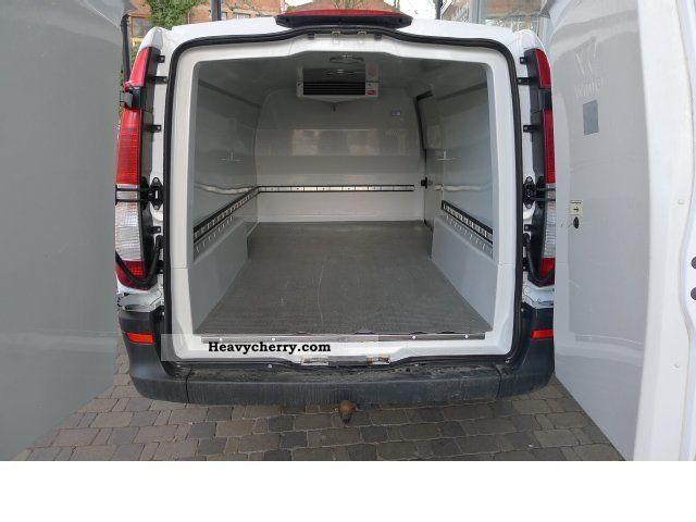 mercedes benz vito 111 cdi long refrigerated vans vat 2007 refrigerator box truck photo and. Black Bedroom Furniture Sets. Home Design Ideas
