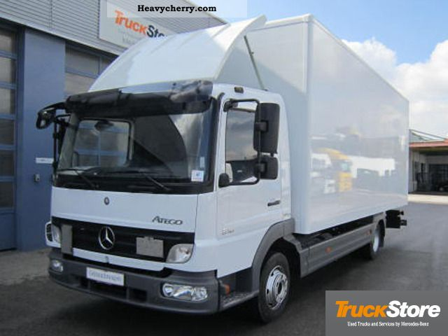 Mercedes benz atego 818 l apc 2008 box truck photo and specs for 2008 mercedes benz truck