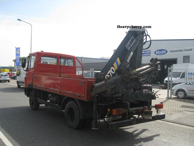 mercedes benz flatbed with hiab 814 crane 070 1992 stake body truck rh heavycherry com