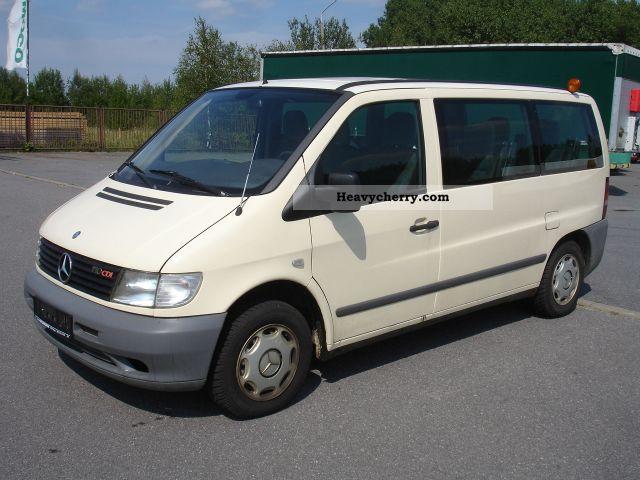 Mercedes Benz Vito 110 Cdi 9 Seater Bus With Air 2001 Estate