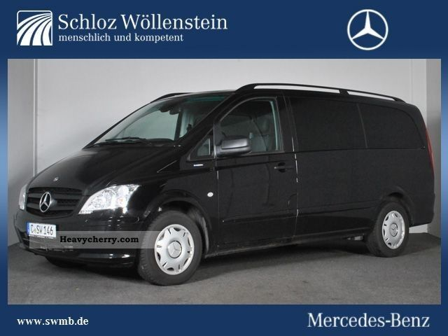 mercedes benz vito 116 cdi estate long comand auto sitzhzg 2011 clubbus photo and specs. Black Bedroom Furniture Sets. Home Design Ideas