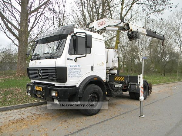 1990 Mercedes-Benz  MB 1933SK Fassi F240 FULL STEEL SUSPENSION Truck over 7.5t Truck-mounted crane photo