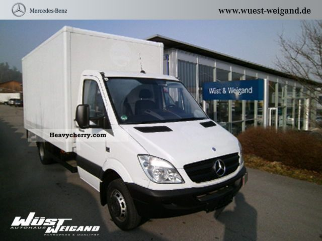 2009 Mercedes-Benz  Sprinter 515 CDI +3 seats LBW CASE + +3.5 and 5 t Van or truck up to 7.5t Box photo