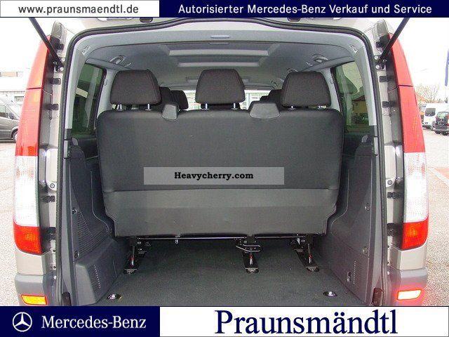 Mercedes Benz Vito 113 Cdi Combi Long Air Conditioned 9