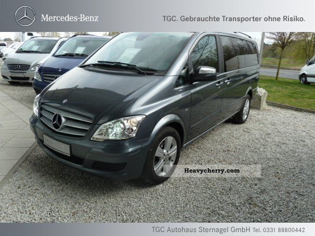 Mercedes benz viano cdi 3 0 l 7 seater navi xenon for Mercedes benz two seater