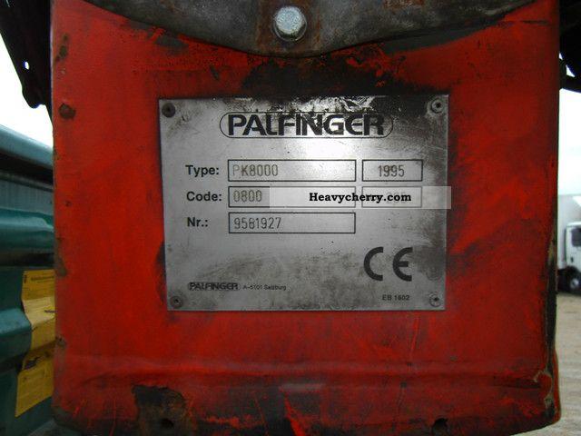mercedes benz 1320 meiller tipper palfinger pk 8000 1995 tipper rh heavycherry com Palfinger Hook Palfinger for Jack Up Legs