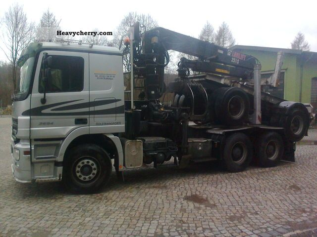 2005 Mercedes-Benz  Actros 2654 Truck over 7.5t Timber carrier photo