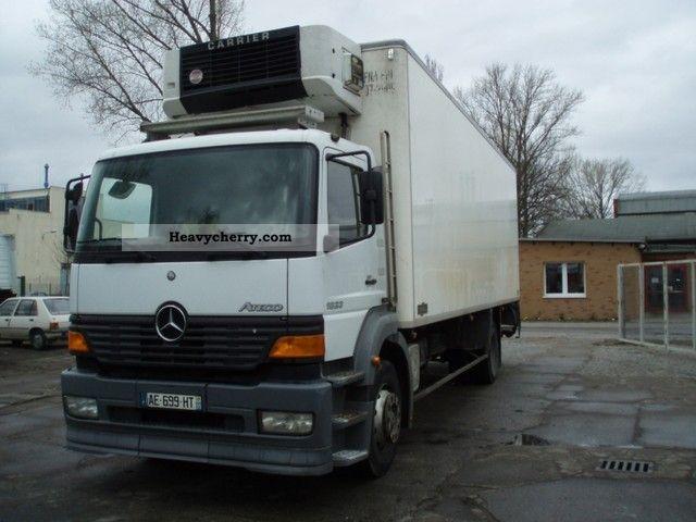 mercedes benz atego 1823 fuel filter mercedes-benz atego 1823 2000 refrigerator body truck ... #15