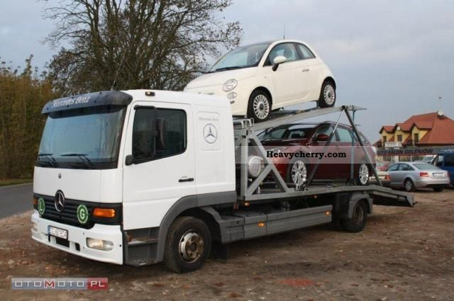 e78d776654 Mercedes-Benz ATEGO 2004 Car carrier Truck Photo and Specs
