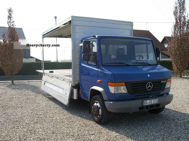 mercedes benz vario 814 d 2000 beverages van photo and specs. Black Bedroom Furniture Sets. Home Design Ideas