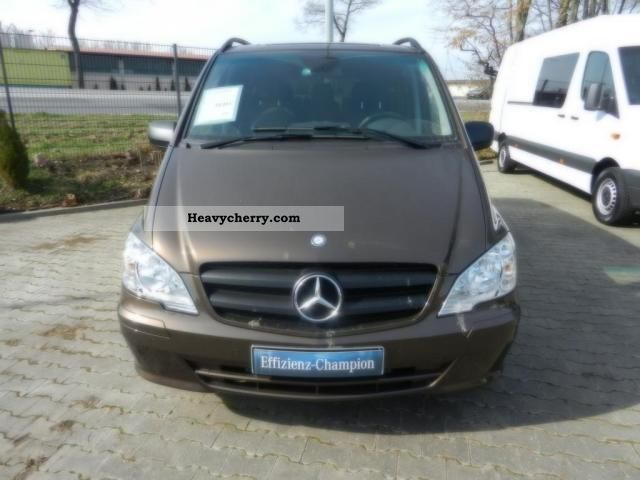 mercedes benz vito 116 cdi 2011 estate minibus up to 9 seats truck photo and specs. Black Bedroom Furniture Sets. Home Design Ideas
