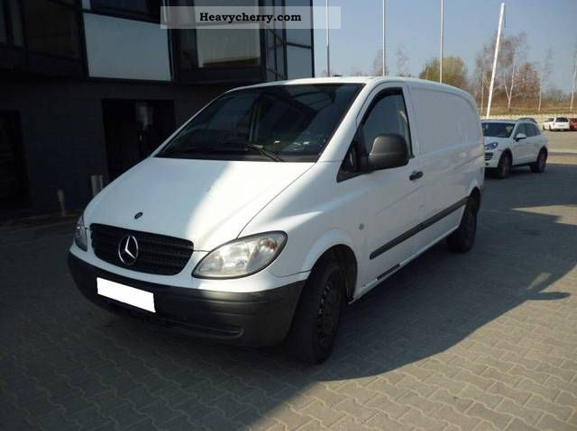mercedes benz vito 109 cdi 2006 other vans trucks up to 7 photo and specs. Black Bedroom Furniture Sets. Home Design Ideas