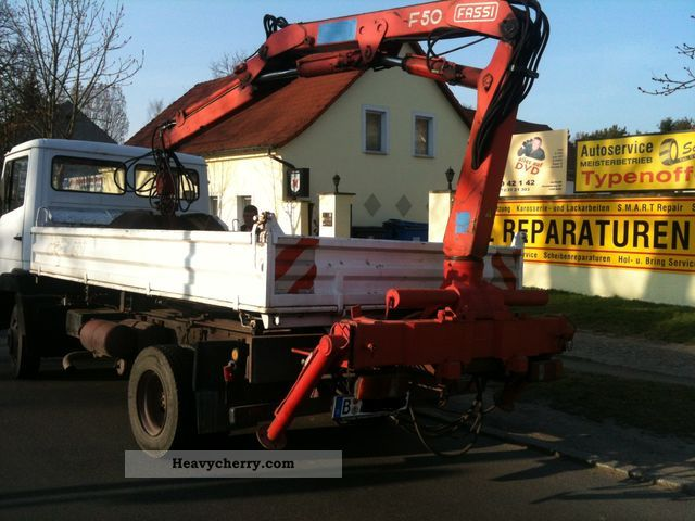 1992 Mercedes-Benz  * Rebuilt with 814 k crane, grab /, * Van or truck up to 7.5t Tipper photo
