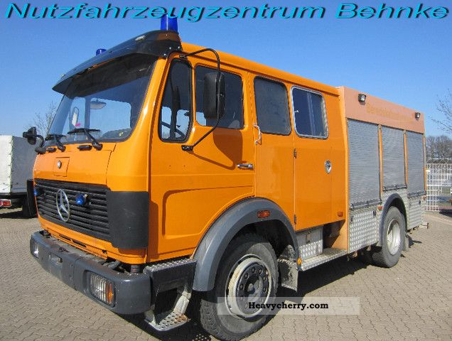 1977 Mercedes-Benz  F 1017 Fire / fire truck Truck over 7.5t Other trucks over 7 photo