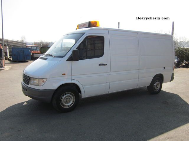 1999 Mercedes Benz Sprinter Van Or Truck Up To 7 5t Box Type Delivery