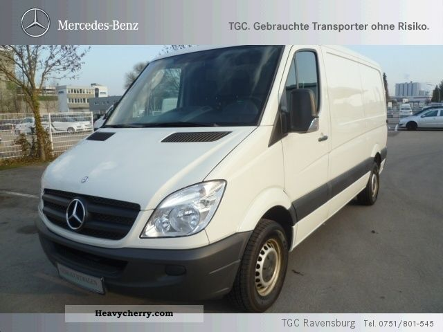 2008 Mercedes-Benz  313 CDI Van or truck up to 7.5t Box-type delivery van - high and long photo