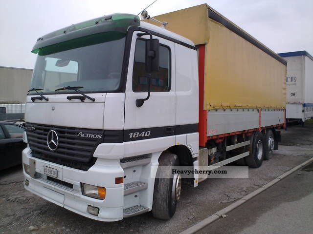 1997 Mercedes-Benz  Actros 1840 Truck over 7.5t Other trucks over 7 photo