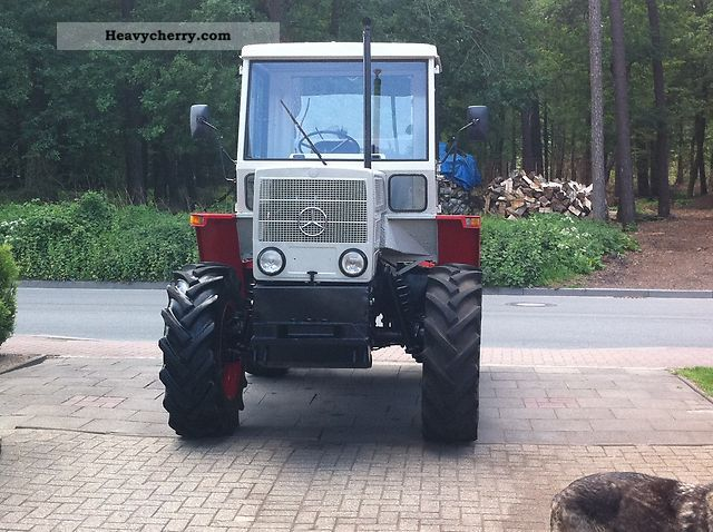 1974 Mercedes-Benz  65/70 Agricultural vehicle Tractor photo