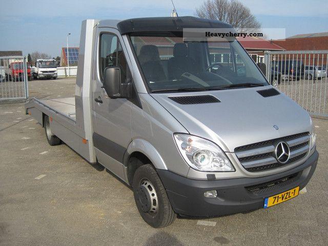 mercedes benz sprinter 518 cdi car transporter 2009 car. Black Bedroom Furniture Sets. Home Design Ideas
