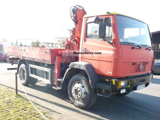 mercedes benz 1117 a 4x4 platforms crane wheel 4x4 1992 truck mounted crane photo and specs. Black Bedroom Furniture Sets. Home Design Ideas