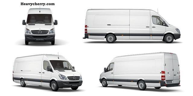 2012 Mercedes-Benz  SPRINTER 519 CDI FURGON Dlugi Zvi Truck over 7.5t Other trucks over 7 photo