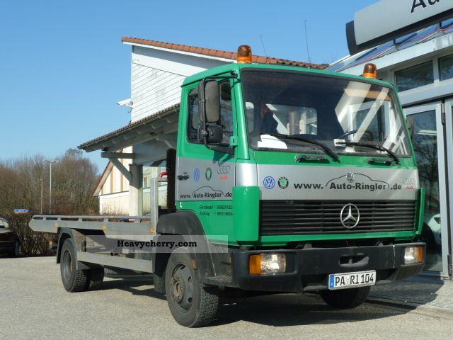 1985 Mercedes-Benz  814 Van or truck up to 7.5t Breakdown truck photo