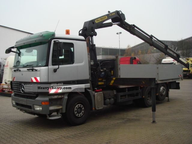 2003 Mercedes-Benz  Palfinger PK 2540 6x2 Euro 4 24 500 Truck over 7.5t Truck-mounted crane photo