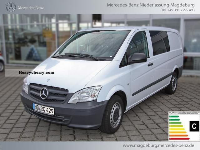 mercedes benz vito 116 cdi mixto air handling 2012 box type delivery van photo and specs. Black Bedroom Furniture Sets. Home Design Ideas