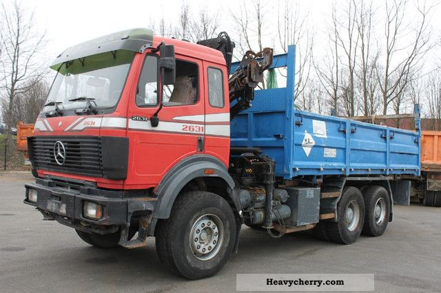 Mercedes benz sk 2631 6x6 tipper 1993 mercedes benz best for Mercedes benz maker