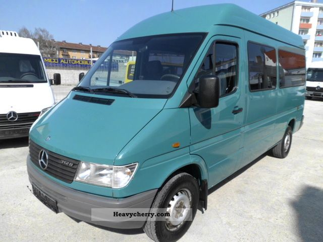 1999 Mercedes-Benz  Sprinter 312 D Van or truck up to 7.5t Estate - minibus up to 9 seats photo