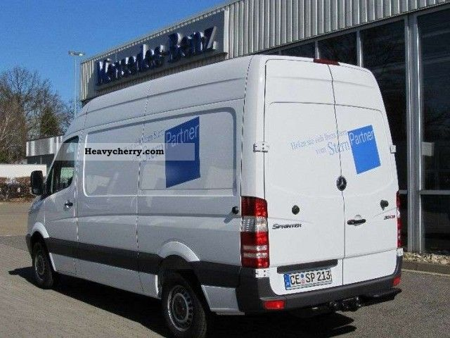 mercedes benz sprinter 213 cdi high 3 seater 2012 other vans trucks up to 7 photo and specs. Black Bedroom Furniture Sets. Home Design Ideas