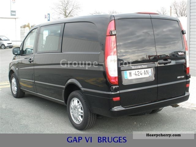 mercedes benz vito 120 cdi long boite auto 2010 box type delivery van photo and specs. Black Bedroom Furniture Sets. Home Design Ideas