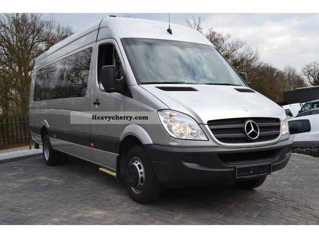 Mercedes benz sprinter 515 cdi minibus taxi l4 h2 19 1 for Mercedes benz sprinter 515 cdi specifications